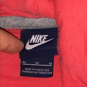 Nike Sweaters - Pink Nike sweatshirt cowlneck hoodie